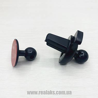 Автомобільний тримач для телефона з безпровідною зарядкою HZ HWC1 (чорний), фото 3