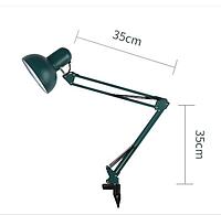 Лампа настольная со струбциной У27 максимальная мощность 60 Вт. Черная.