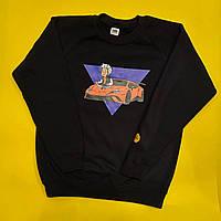 Дитячий світшот Влад А4. Vlad А4 велике лого. Кофта для хлопчиків і дівчаток VLAD А4