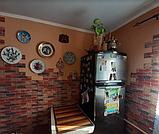 Самоклеюча 3D панель під цеглу Бежево-коричневу Катеринославську, декоративні 3Д панелі, фото 3