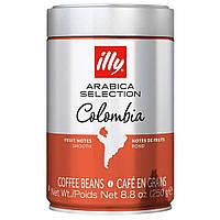 Кава в зернах illy Monoarabica Колумбія в банку 250г
