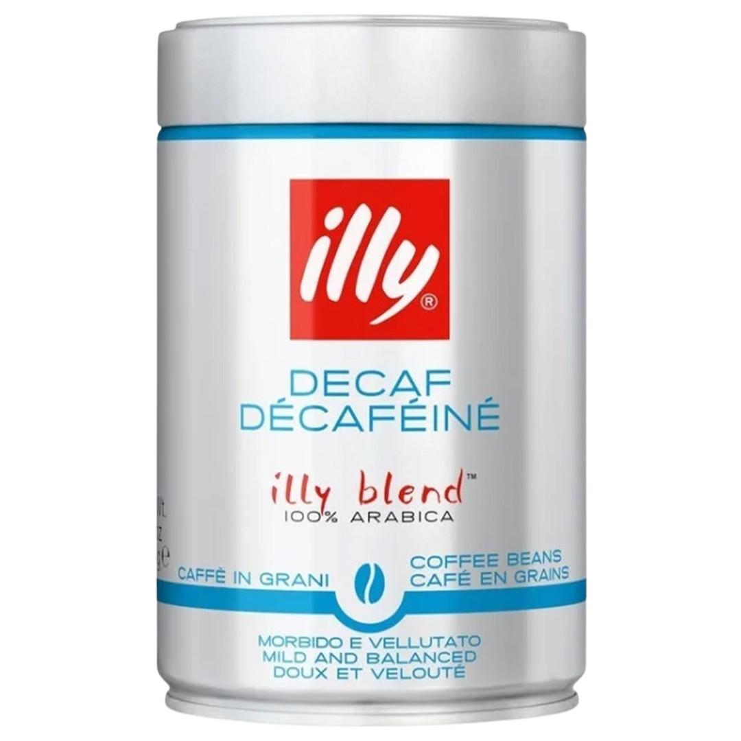 Кава в зернах illy DECA без кофеїну в банку 250г