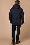 Синяя комфортная куртка мужская на зиму модель 44842 (ОСТАЛСЯ ТОЛЬКО 48(M)), фото 5