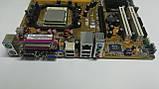 Материнська плата сокет AM2+ Asus M2N-MX вбудоване відео і процесор, фото 3