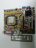 Материнська плата сокет AM2+ Asus M2N-MX вбудоване відео і процесор, фото 6