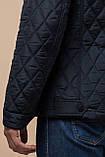 Мужская темно-синяя качественная куртка зимняя модель 1698, фото 8