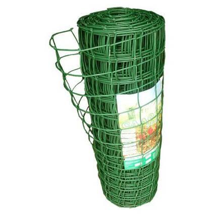 Садова решітка пластикова СР-83  1*20 м, 83* 83 мм зелена, хакі