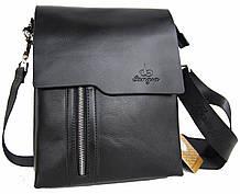 Стильная мужская сумка Langsa Размер 27*20,5*7см КС71