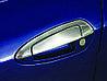 Fiat Punto Grande/EVO 2006↗ и 2011↗ гг. Накладки на ручки с верхней частью (нерж) OmsaLine - Итальянская