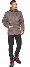 Куртка – воздуховик ореховый зимний с карманами мужской модель 15078