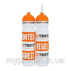EXTRIFIT Спортивная Фляга для воды  Bottle Extrifit White long nozzle  (700 ml)