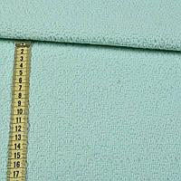 Ткань костюмная жаккардовая салатная (23106.002)