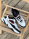 Женские кроссовки Nike M2K White Black Red, фото 6