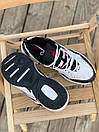 Женские кроссовки Nike M2K White Black Red, фото 4