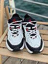 Женские кроссовки Nike M2K White Black Red, фото 2