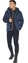 Куртка – воздуховик с карманами зимний мужской цвет джинс модель 15078