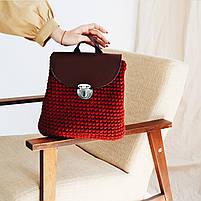 Набор для рюкзака экокожа Хаки МАКСИ (10 позиций-Оливковый) фурнитура серебро, фото 3