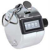 Ручний 4-розрядний лічильник, 0000-9999, фото 4