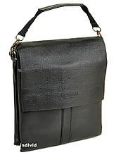 Кожаная мужская сумка bond сумка мужская бонд планшет. СП7-1