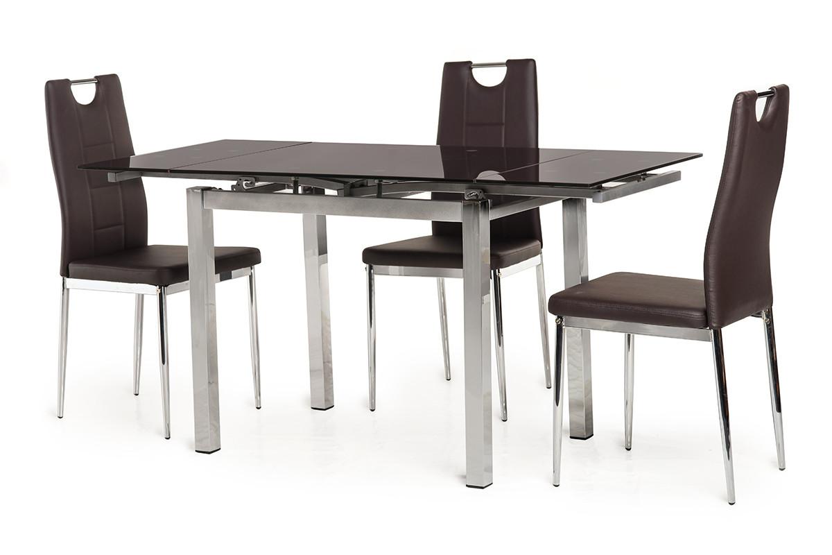 Обеденный стол T-231-8 темно-коричневый