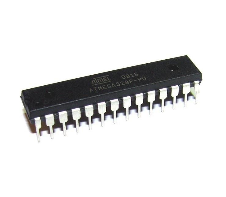 Чип ATMEGA328P-PU DIP28, Микроконтроллер 20МГц