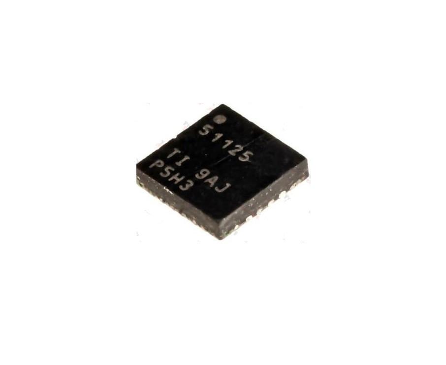 Чіп TPS51125 51125, QFN24, контролер живлення