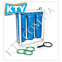 Фильтр для очистки воды Aquafilter HHBB20B Big Blue 20, система. Проточный фильтр