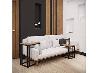 Комплект журнальных столиков Кофе брейк от Металл Дизайн с доставкой