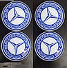 Mercedes CLS C218 2011-2018 гг. Колпачки в титановые диски 65мм (4 шт)