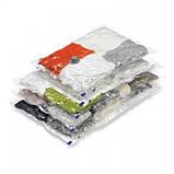 5шт вакуумні пакети для зберігання одягу 50х60см, фото 2