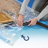 5шт вакуумні пакети для зберігання одягу 50х60см, фото 3