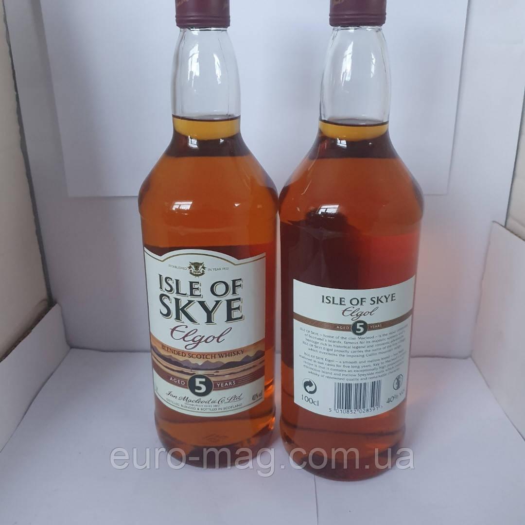Isle of skye  egloss 1L 5 YA.  Виски Айл офф скай 1л 5 лет