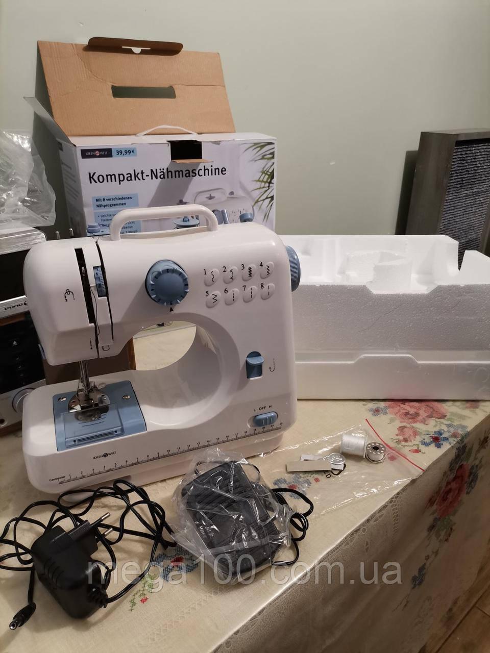Немецкая швейная машинка Germany ideen welt LD/01084 цвет бело/синий