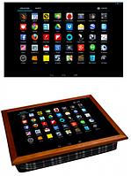 Поднос для завтрака кофейный столик 36,5х44,3х9,5 см iPad планшет Айпад