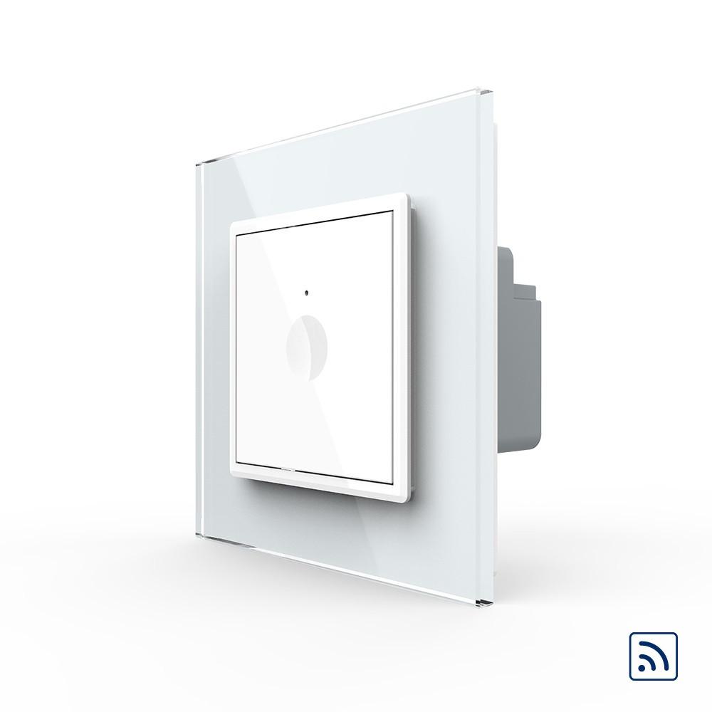 Сенсорний радіокерований вимикач Livolo Sense білий (722100111)