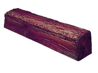 Декоративная балка Decowood Рустик EQ007 60х90х4000 мм Светлое дерево Красный