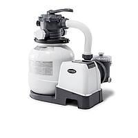 Песочный фильтр насос Intex 26646, 6 000 л\ч, 23 кг, New 2020