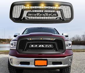 Решетка радиатора Dodge Ram 1500 (13-18) тюнинг Rebel