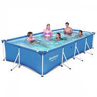 Каркасный бассейн Bestway 56405, 400х211х81 см