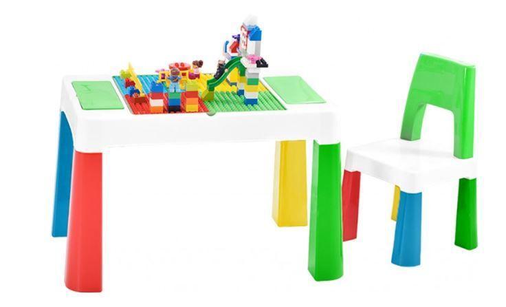 Детский функциональный столик со стульчиком Poppet PP-002G