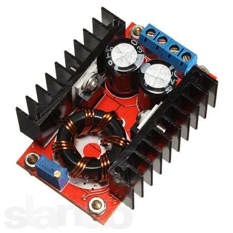 Підвищувальний конвертер струму, 10-32В на 12-35В, 150Вт