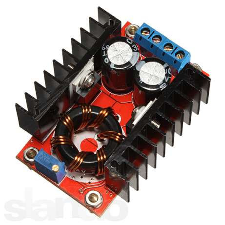 Преобразователь напряжения повышающий UC3843A 10-32 на 12-35В, 150Вт