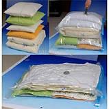5шт вакуумные пакеты для хранения одежды 80х120см, фото 6