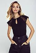 Блузка женская Alina Eldar черного цвета, коллекция весна-лето 2021