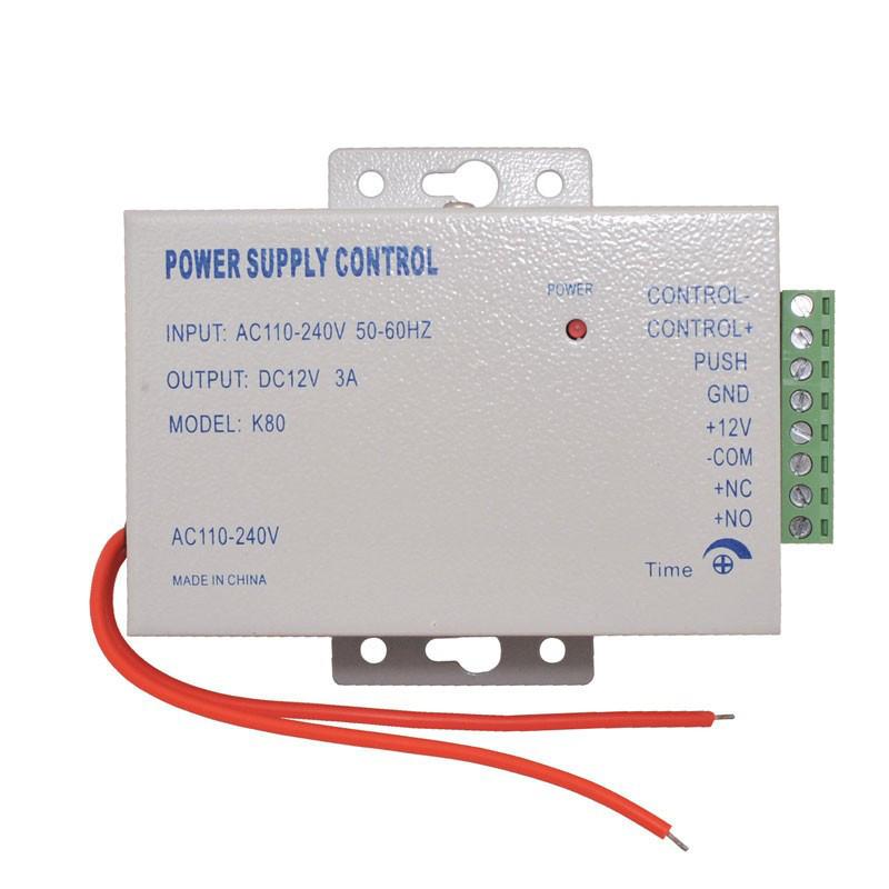 Контролер живлення домофона, електрозамка 12В, 3А