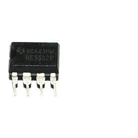 Чіп NE5532P DIP8 операційний підсилювач 2-канальний