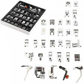Набір з 32 лапок для швейних машин Singer Baby Lock Brother Janome