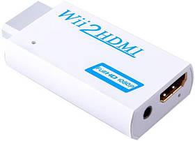 Wii - HDMI адаптер, конвертер відео + аудіо, 1080P