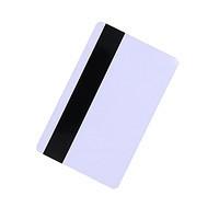 Картка з магнітною смугою пластикова HiCo CR80 ISO 7811