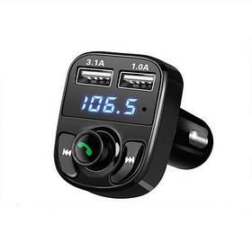 Автомобільний FM-модулятор Bluetooth 4.0 Handsfree 2x USB MicroSD 3.1 А